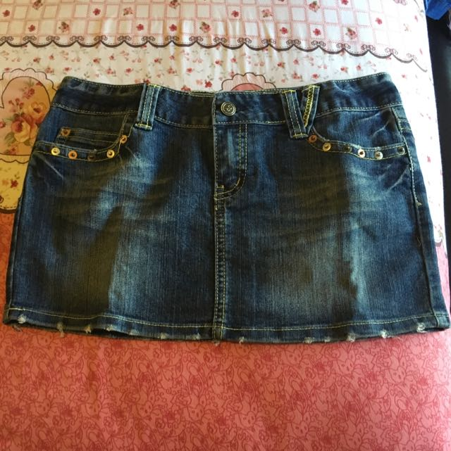 Denim Skirt (Jeans Republic)