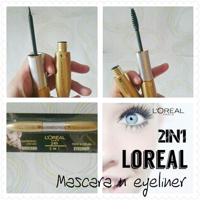 Eyeliner&mascara loreal 2in1
