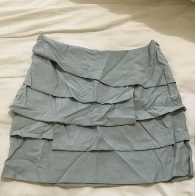 F21 Grey Skirt