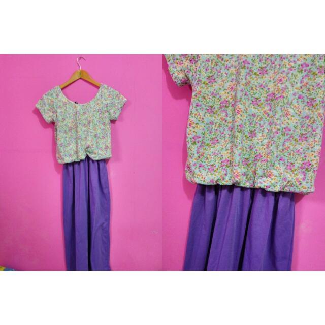 Flower dress 2 in 1