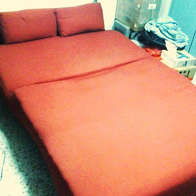 Foldable Sofa bed (spring mattress)