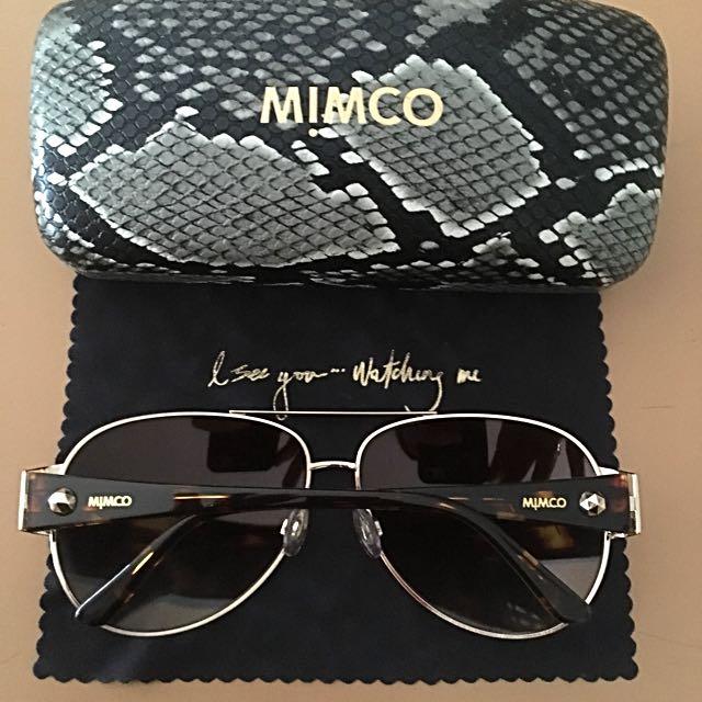 Genuine Mimco Neptune Aviator Sunglasses