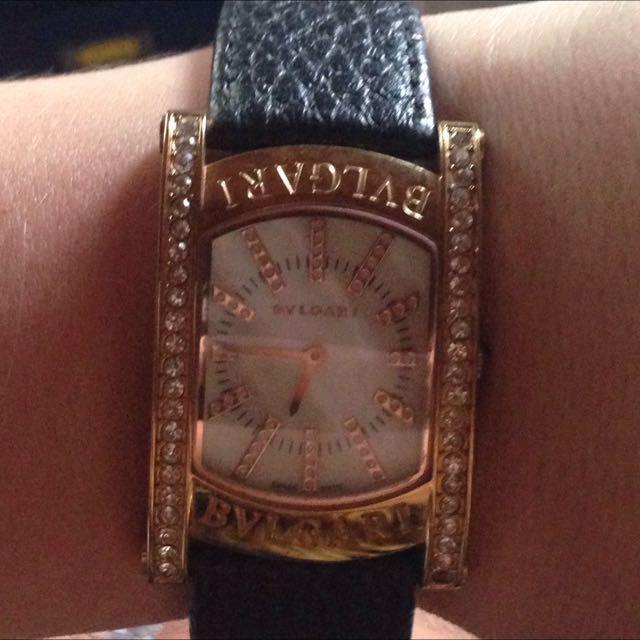 Genuine/Authentic BVLGARI Watch (women's)