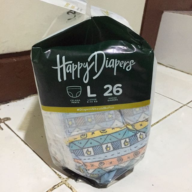 Happy Diapers Size L (popok/pampers)