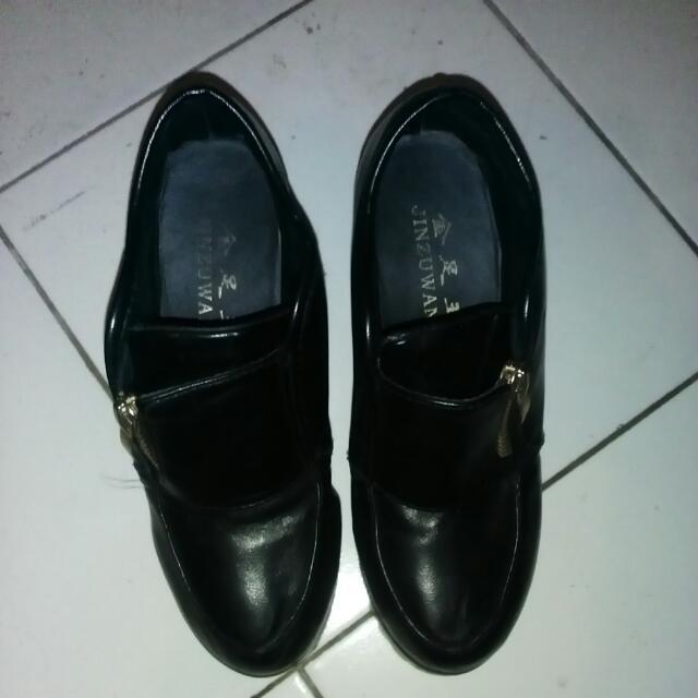 Heels Wedges Boots (Import)