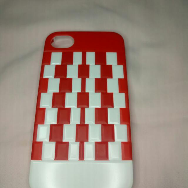 iphone 4/4s red hardcase