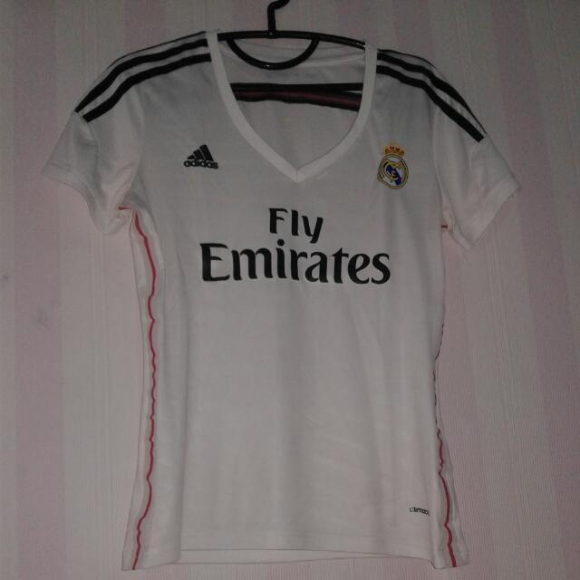 Adidas Jersey Cewek Real Madrid