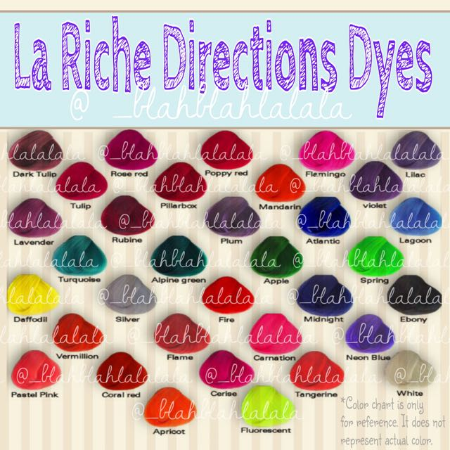 La Riche Semi Permanent Hair Dyes
