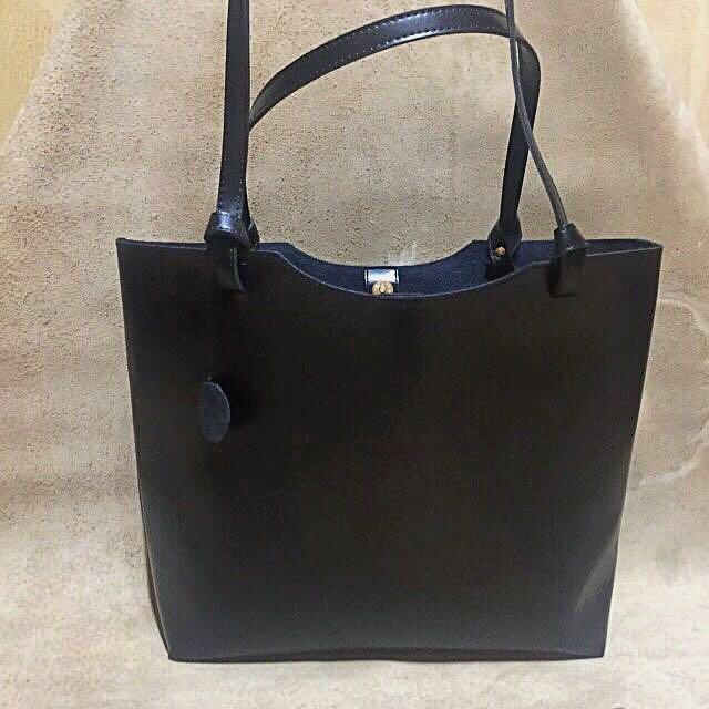 leather tote bag 真皮托特包