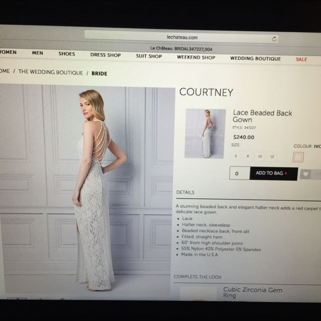 LeChateau Wedding Dress