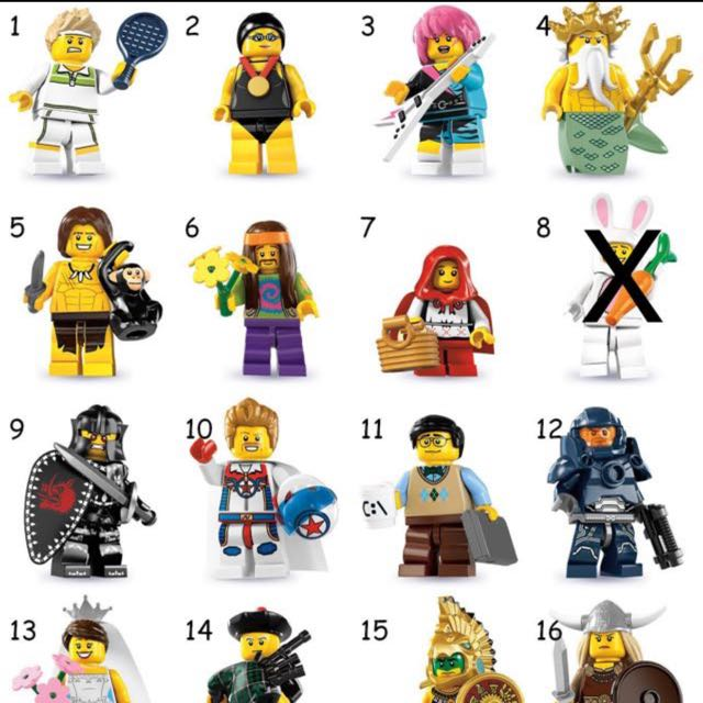 LEGO Collectable Minifigures Series 7 Tennis Ace