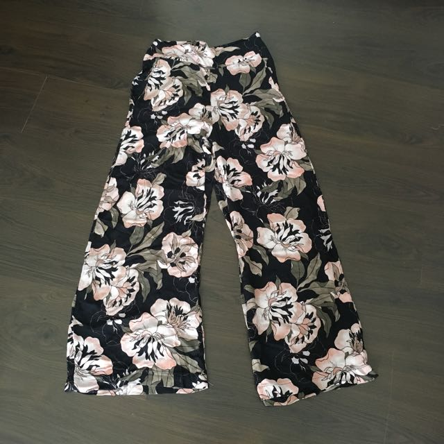 MNG Flower Pants