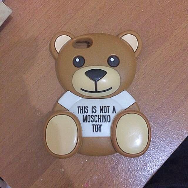 Moschino Iphone 5 5s Case