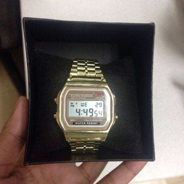 New!! Gold Watch ⌚️