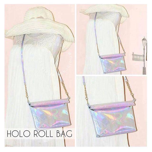 (NEW) Hologram Sling Bag