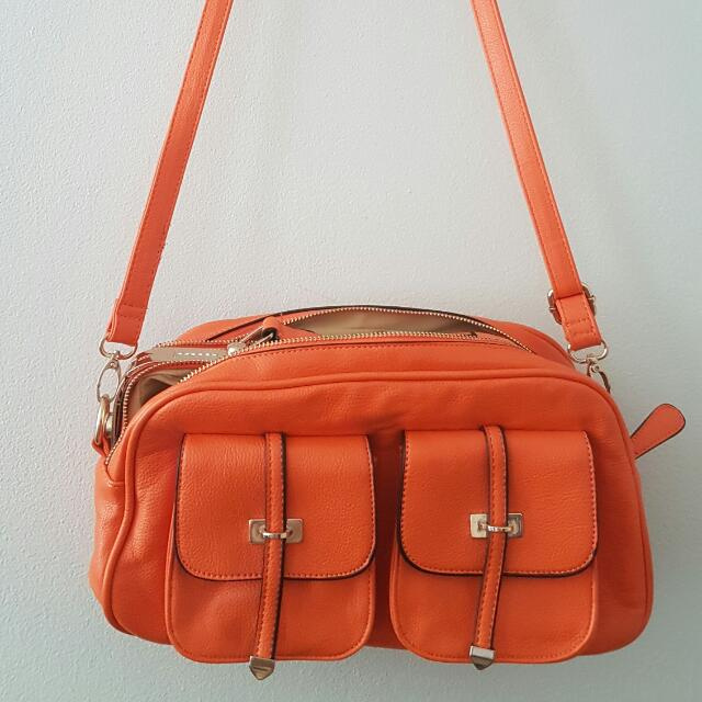 New Orange Handbag
