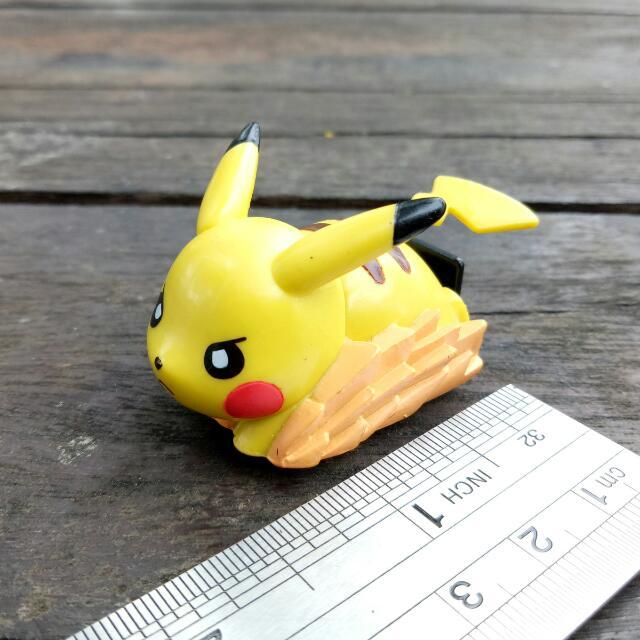 Choro Chibikko Takara Pokemon Tomy Pullback Pikachu Original Car Q SGVMUpqz