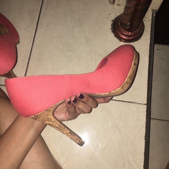 Pink Heels Payless Ukuran 38