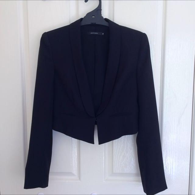 Portmans Black Jacket Size 8