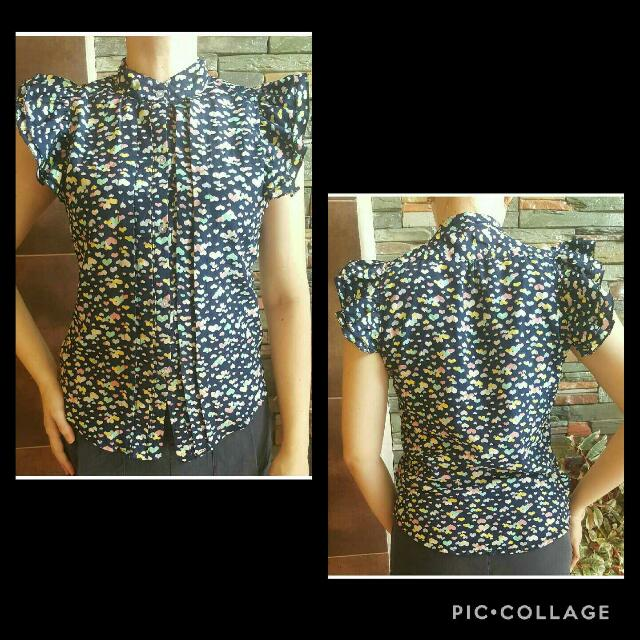 Preloved Hearty Blouse