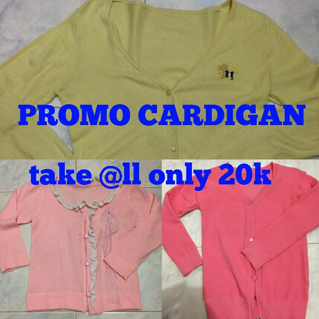 Promo Cardigan Only 20k Take All