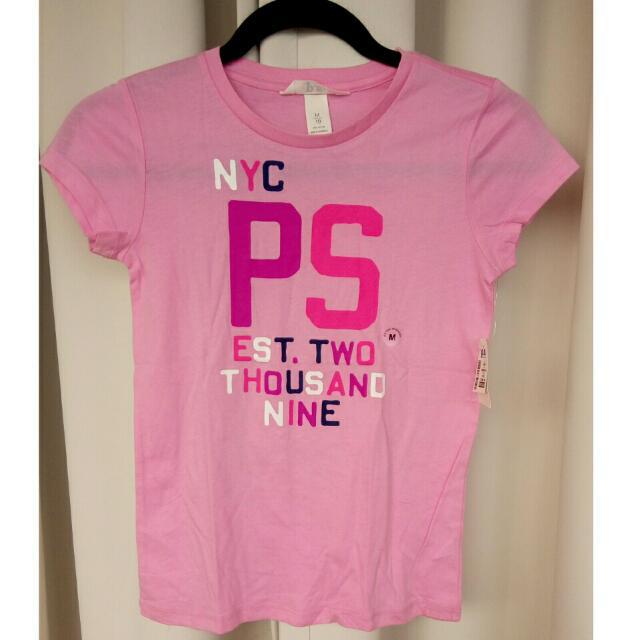 PS by Aeropostale Pink Tee
