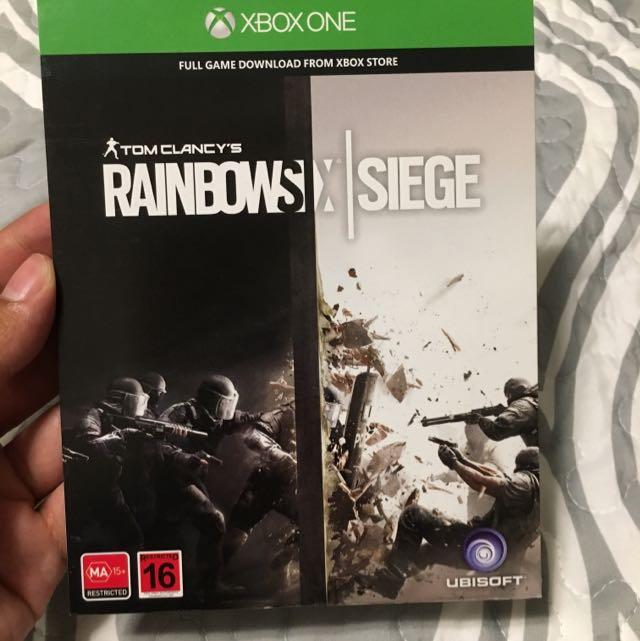 Rainbow Six Siege Download Code Xbox 1