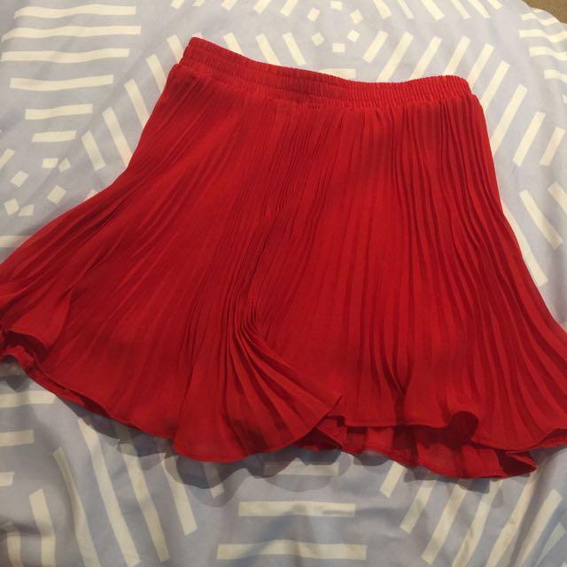 Red Pilgrim Skirt Size S