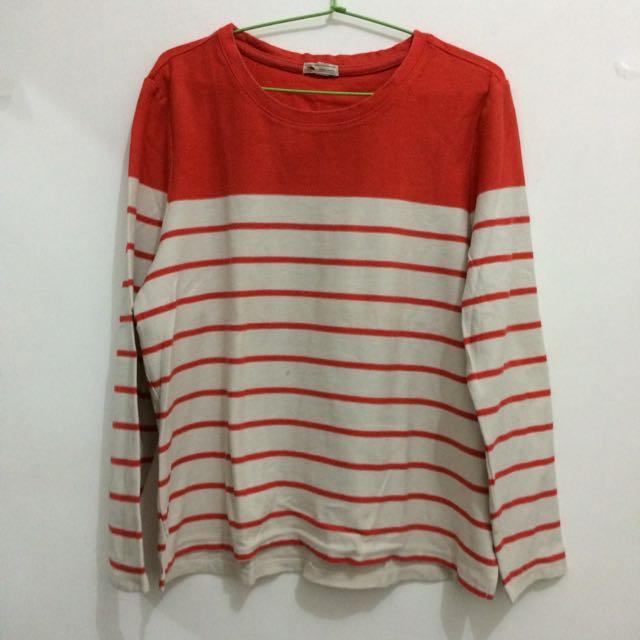 Red Stripe Tshirt