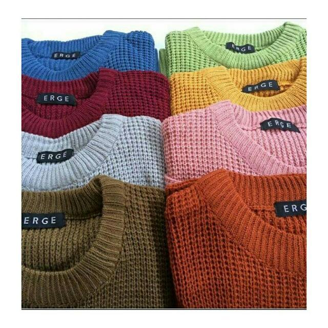Roundhand Sweater Erge