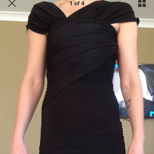 Size 8 Black Dress.