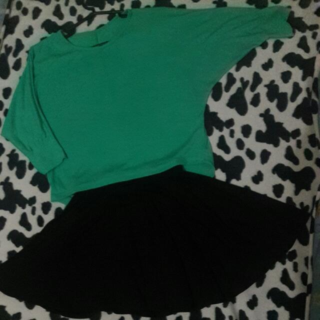 Skater Skirt And Top