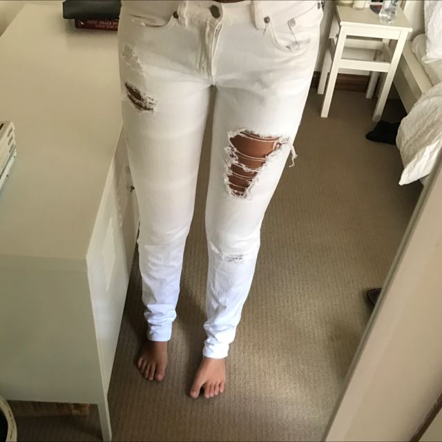 Sportsgirl Ripped Jeans