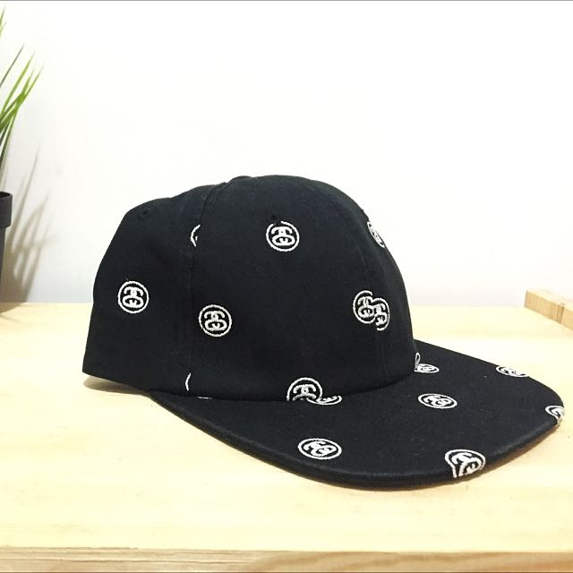 Stussy SnapBack 滿版電繡 棒球帽