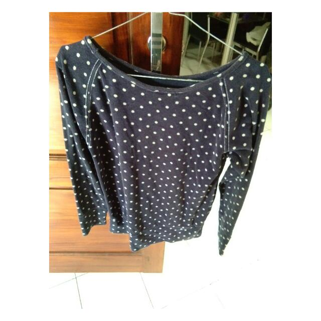 Switer Polkadot Navy