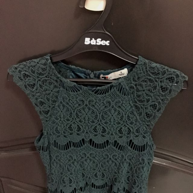 TEMT Dark Green Top