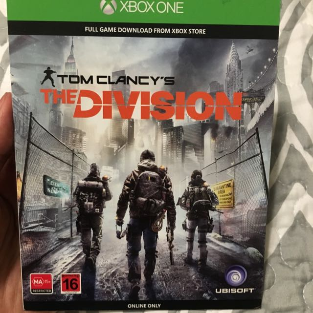 The Division Download Code Xbox 1