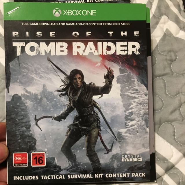 Tomb Raider Download Code Xbox 1
