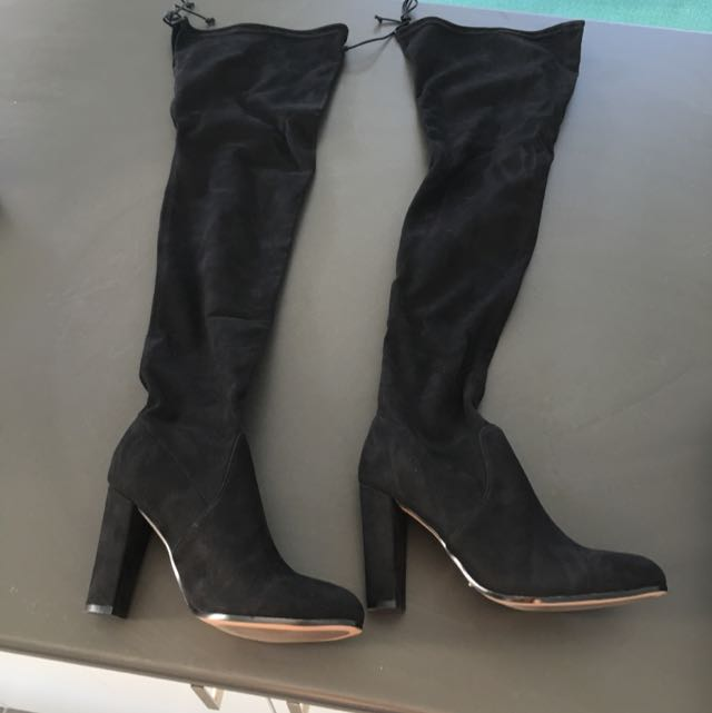 0cfd7e3d34d PRICE DROP  Tony Bianco Tash Over The Knee Boots