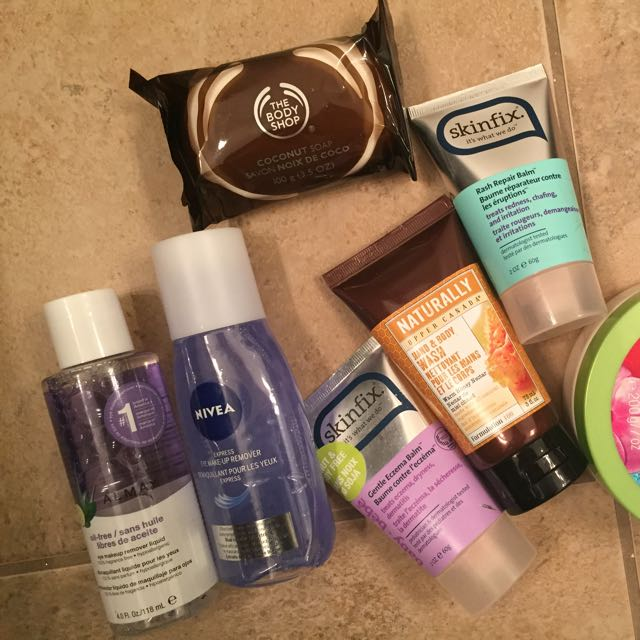 Various beauty Products
