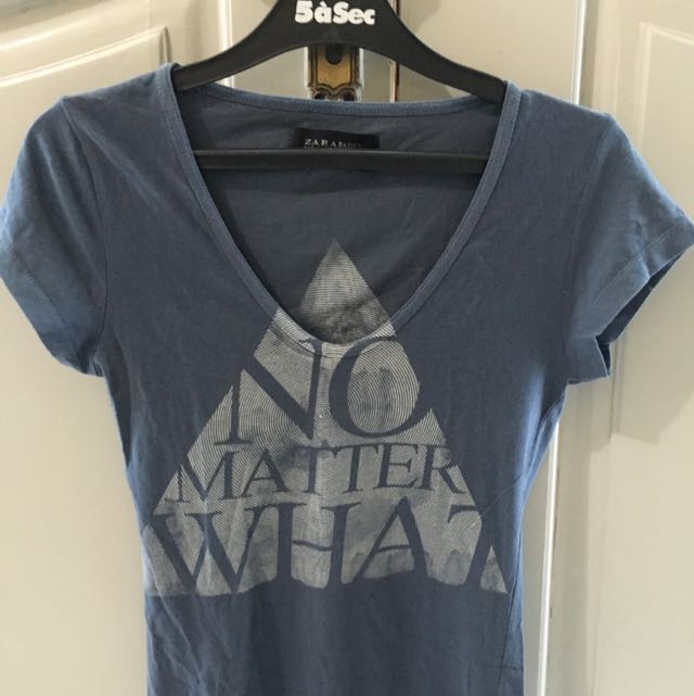Zara Tshirt - No Matter What
