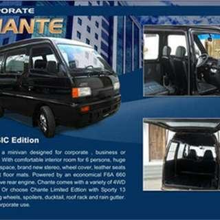 Multicabs, Minivan,Pick Up, Passengers Type