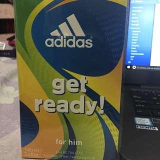 Adidas Get Ready Eau De Toilette For Him