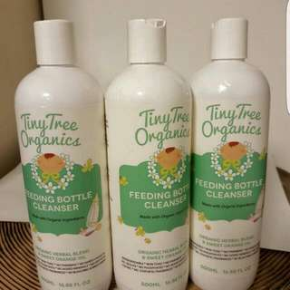 Tiny Tree Organics Feeding Bottle Cleanser