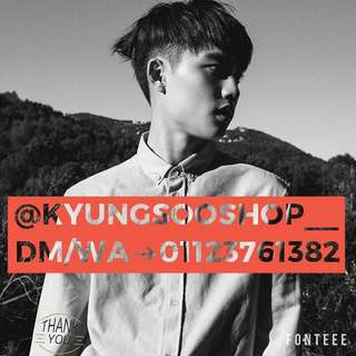 Follow My Igshop @kyungsooshop__ I Sell Kpopstuff With Cheap Price
