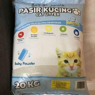 cat litter 20kg