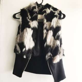 Mini Fur Vests