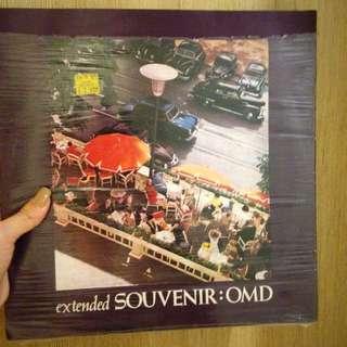 Vinyl / Piringan Hitam Extended Souvenir OMD