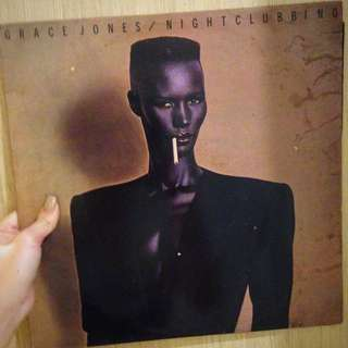 Vinyl / Piringan Hitam Grace Jones Nightclubbing