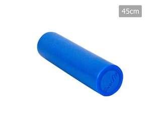 Yoga Gym Pilates EPE Stick Foam Roller Blue 45 x 15cm
